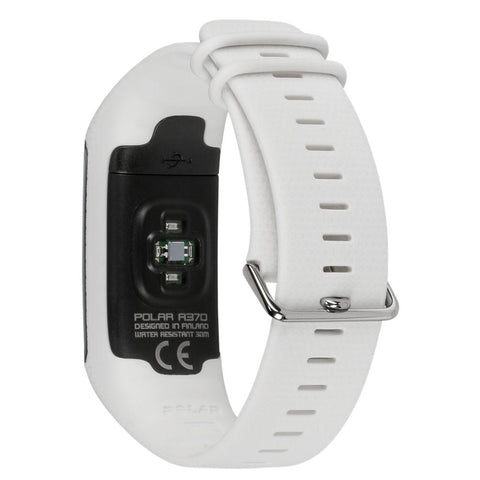Polar Smart Watch A370 Activity Tracker With Heart Rate Monitor White 90064877