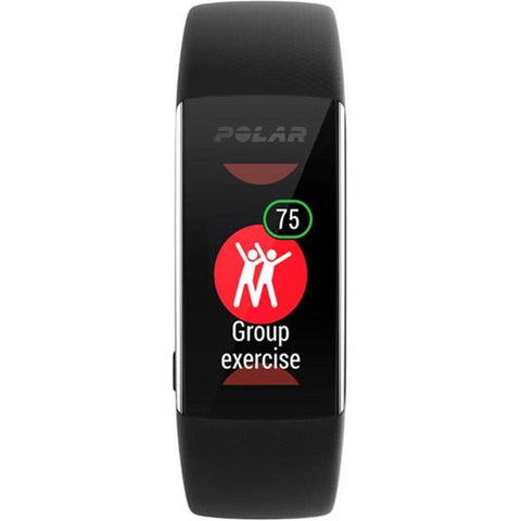Polar Smart Watch A370 Activity Tracker With Heart Rate Monitor Black 90071383