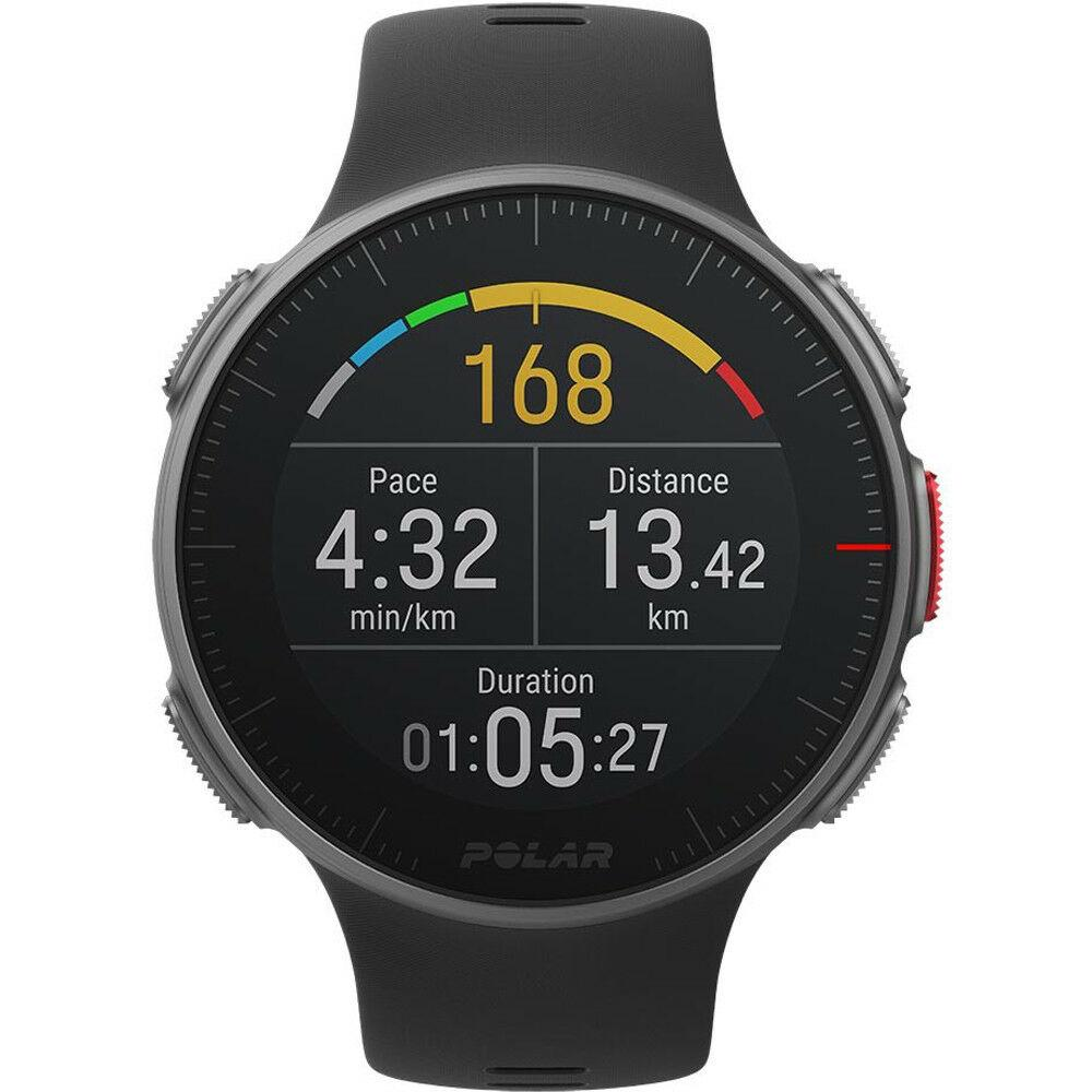 Polar Smart Watch Vantage V Titan GPS Multi Sport & Triathlon With Premium Materials 90072459