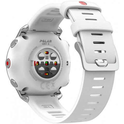Polar Smart Watch Grit X White Strap GPS Outdoor Multi Sport With All Essential Training Features 90081735