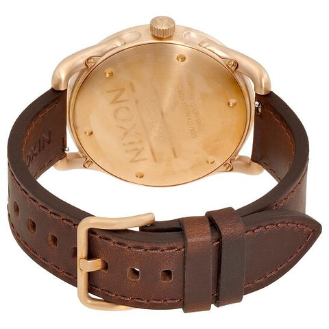 Men's Brown C39 Leather Analogue Nixon Watch A459-1890