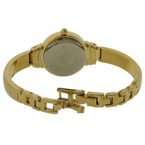 Ladies Gold Classic Stainless Steel Analogue Anne Klein Watch AK-2558CHGB
