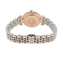 Ladies Silver & Rose Gold Stainless Steel Emporio Armani Watch AR11223