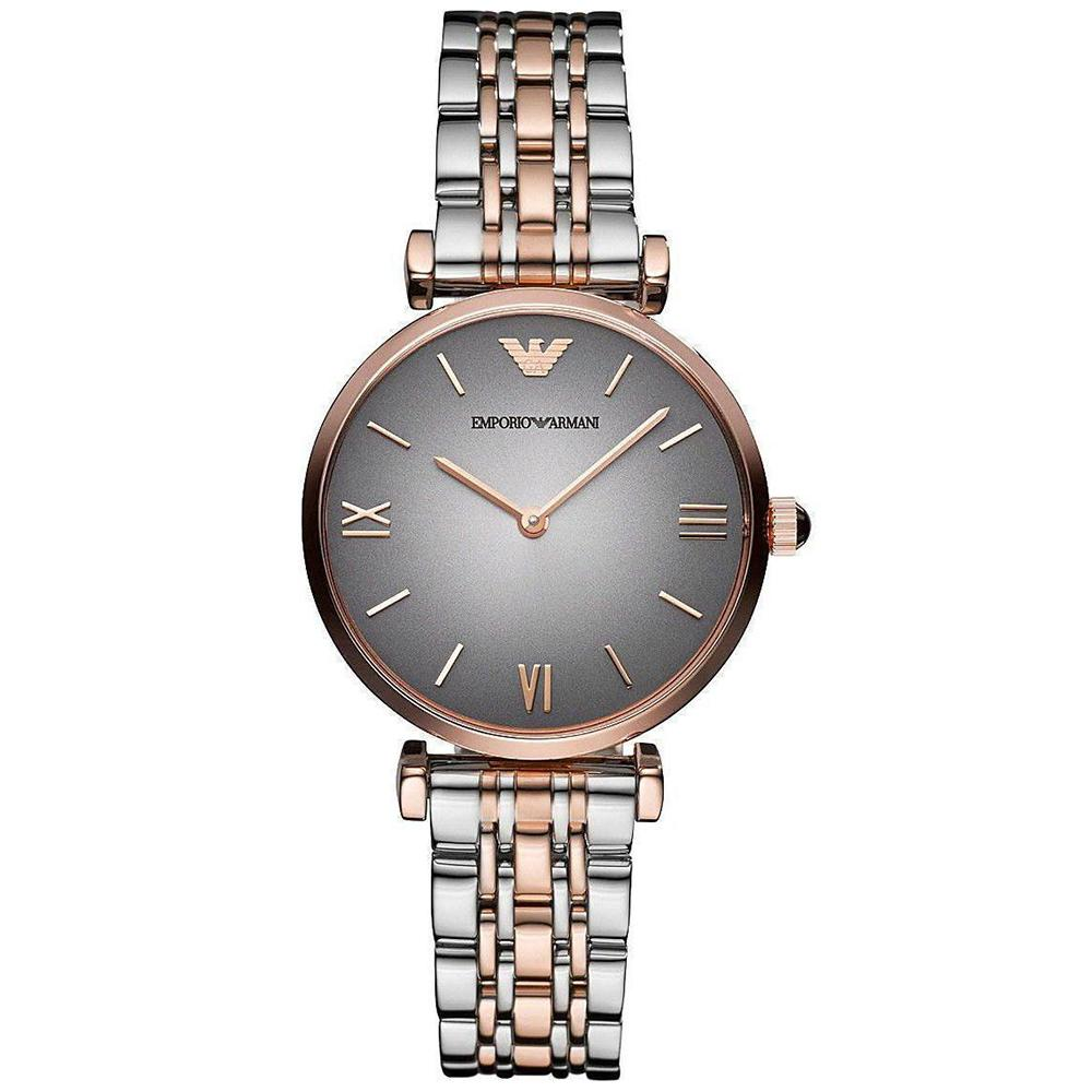 Ladies Gold & Silver Stainless Steel Emporio Armani Watch AR1725