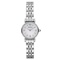 Ladies Mother Of Pearl Dial Stainless Steel Emporio Armani Watch AR1763