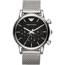 Men's Gold Chronograph Stainless Steel Emporio Armani Watch AR1811