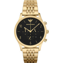 Men's Gold Chronograph Stainless Steel Emporio Armani Watch AR1893