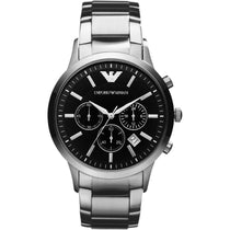 Men's Classic Stainless Steel Chronograph Emporio Armani Watch AR2434