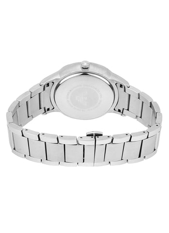 Men's Silver Dress Stainless Steel Analogue Emporio Armani Watch AR2514