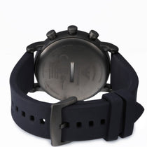 Men's Blue Connected Rubber Analogue Emporio Armani Watch ART3009