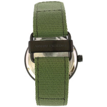 Men's Green Nylon Analogue Armani Exchange AX1468