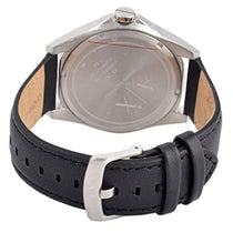 Men's Black Classic Leather Analogue Armani Exchange Watch AX2621