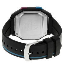Men's Black Shell Rubber Digital Armani Exchange Watch AX2955