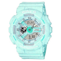 Ladies Blue Baby-G Resin Analogue-Digital Casio Watch BA110SC-2A