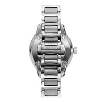 Ladies Silver & Pink Dial Stainless Steel Burberry Watch BU10111