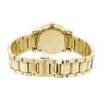 Ladies Gold Ion Plated Stainless Steel Burberry Bracelet Watch BU9203