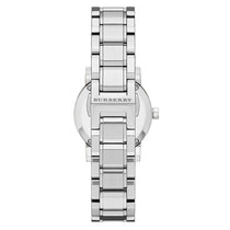 Ladies The City Silver Dial Stainless Steel Burberry Watch BU9229