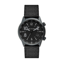 Black Outbacker Nylon Analogue Columbia Watch CSC01-004