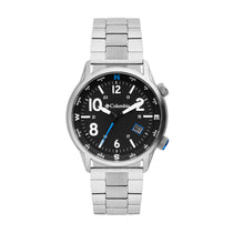 Black Outbacker Stainless Steel Analogue Columbia Watch CSC01-005
