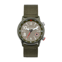 Green Outbacker Nylon Analogue Columbia Watch CSC01-008