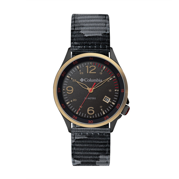 Black Canyon Ridge Nylon Analogue Columbia Watch CSC02-002