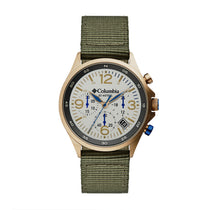Green Canyon Ridge Nylon Analogue Columbia Watch CSC02-004