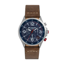 Brown Canyon Ridge Leather Chronograph Columbia Watch CSC02-005