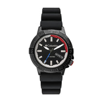 Black Peak Patrol Rubber Analogue Columbia Watch CSC03-001