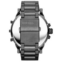 Men's Daddy 2.0 Gunmetal Grey Stainless Steel Chronograph Diesel Watch DZ7331