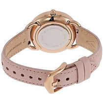 Ladies Pink Tailor Leather Chronograph Fossil Watch ES4393