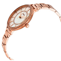 Ladies Rose Gold Jocelyn Stainless Steel Analogue Fossil Watch ES4452