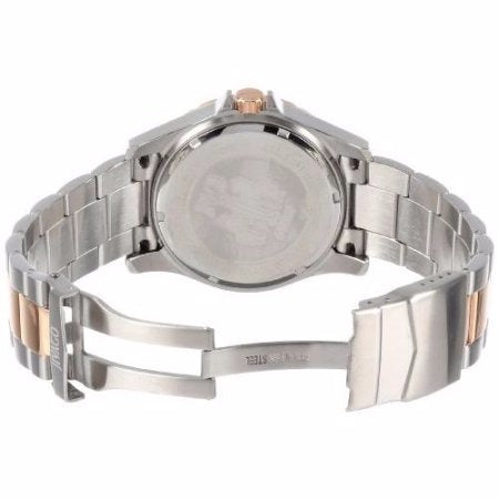 Men's Silver Rose Gold Ultimate Stainless Steel Analogue Jivago Watch JV6118
