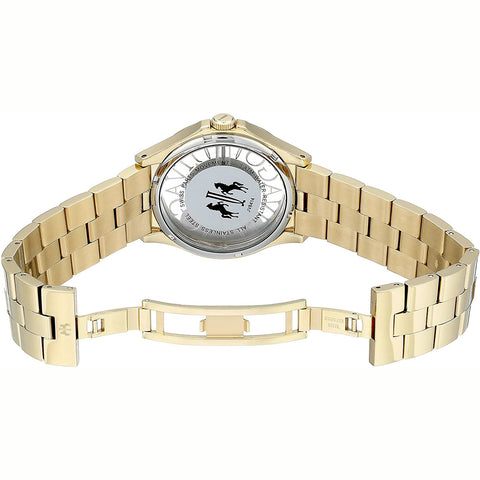 Ladies Gold Fun Stainless Steel Analogue Jivago Watch JV8414