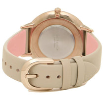 Ladies Grey Morningside Leather Analogue Kate Spade Watch KSW1508