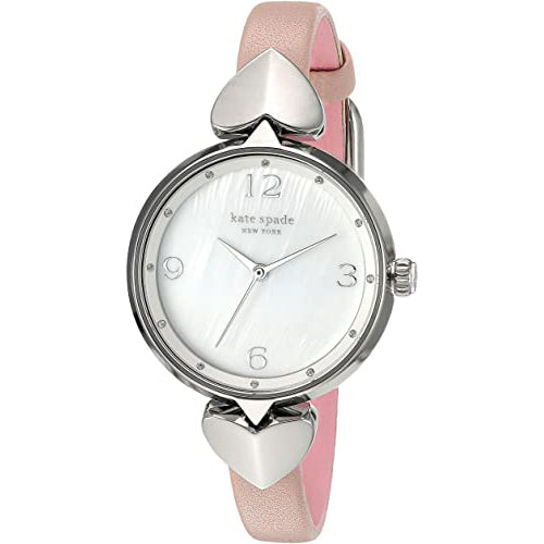 Ladies Pink New York Leather Analogue Kate Spade Watch KSW1550