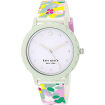Ladies Multi Color New York Rubber Analogue Kate Spade Watch KSW1640