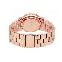 Ladies AMY Rose Gold Stainless Steel Marc Jacobs Watch MBM3077