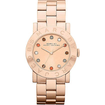 Ladies Blade Rose Gold Stainless Steel Marc Jacobs Watch MBM3142
