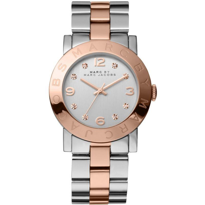 Ladies AMY Rose Gold Stainless Steel Marc Jacobs Watch MBM3194