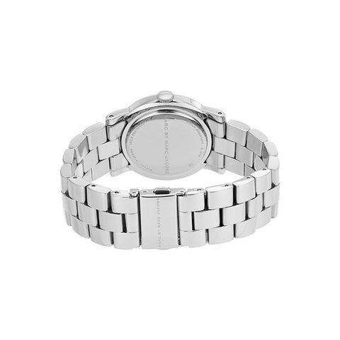 Ladies AMY Silver Stainless Steel Marc Jacobs Watch MBM3214