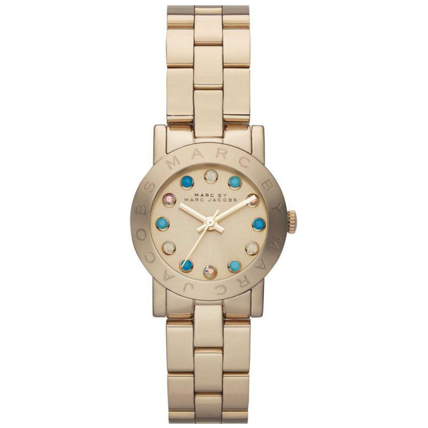 Ladies AMY Dexter Gold Stainless Steel Marc Jacobs Watch MBM3218