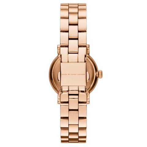 Ladies Mini Baker Rose Gold Stainless Steel Marc Jacobs Watch MBM3248