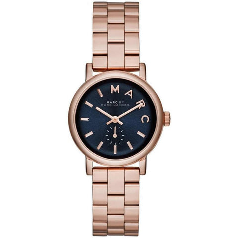 Ladies Baker Mini Rose Gold Stainless Steel Marc Jacobs Watch MBM3332