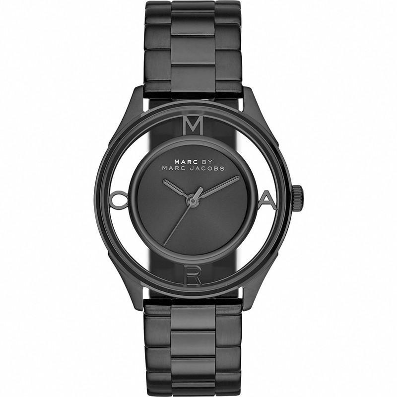 Ladies Tether Black Three Hand Stainless Steel Marc Jacobs Watch MBM3419