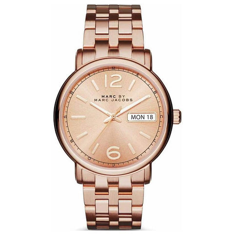 Ladies Fergus Rose Gold Stainless Steel Marc Jacobs Watch MBM3439