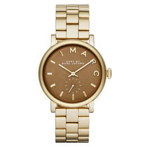 Ladies Baker Gold Tone Stainless Steel Marc Jacobs Watch MBM8631