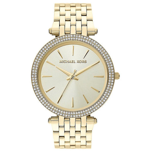 Ladies Darci Gold Stainless Steel Michael Kors Watch MK3191