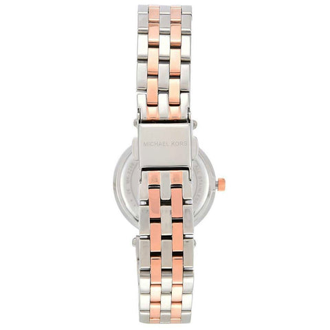 Ladies Mini Darci Two Tone Silver & Gold Stainless Steel Michael Kors Watch MK3405