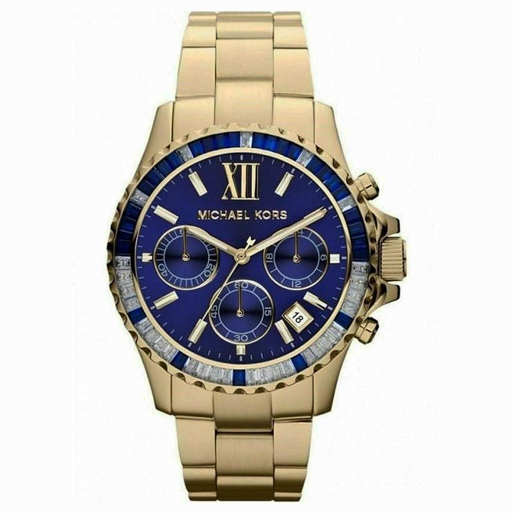 Ladies Everest Gold-Tone Stainless Steel Michael Kors Watch MK5754