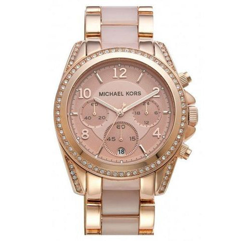 Ladies Blair Rose Gold Michael Kors Watch MK5943